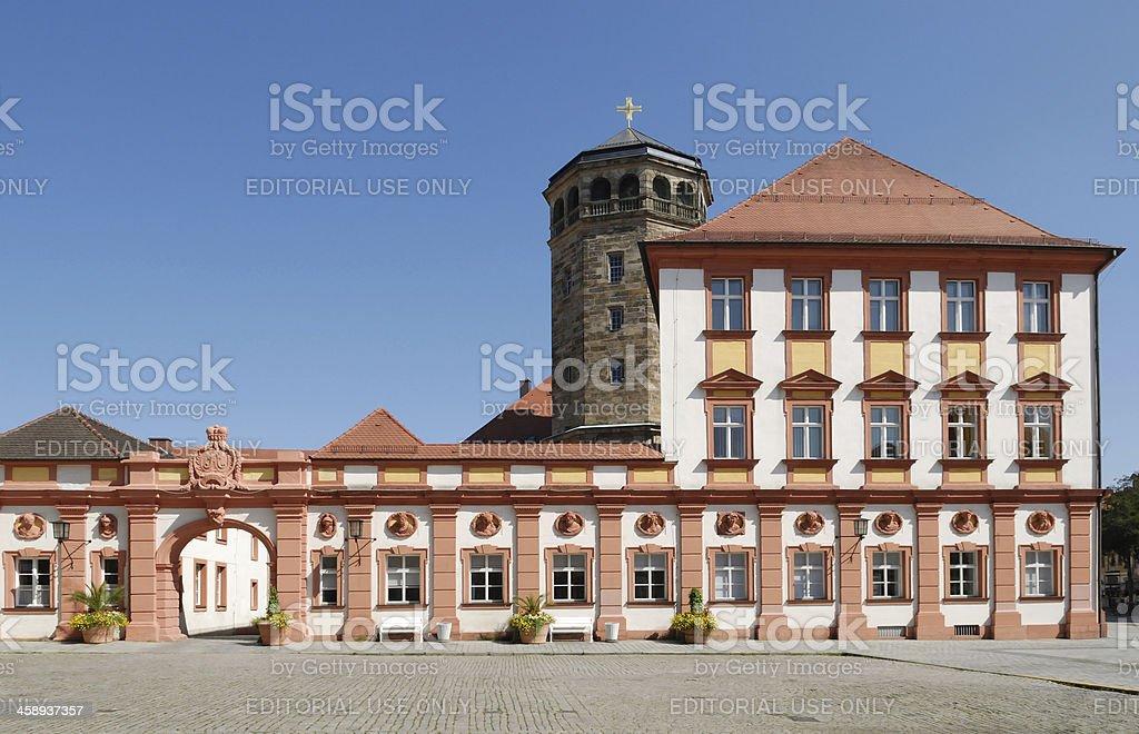 Altes Schloss Bayreuth old castle, achteckigen Turm – Foto