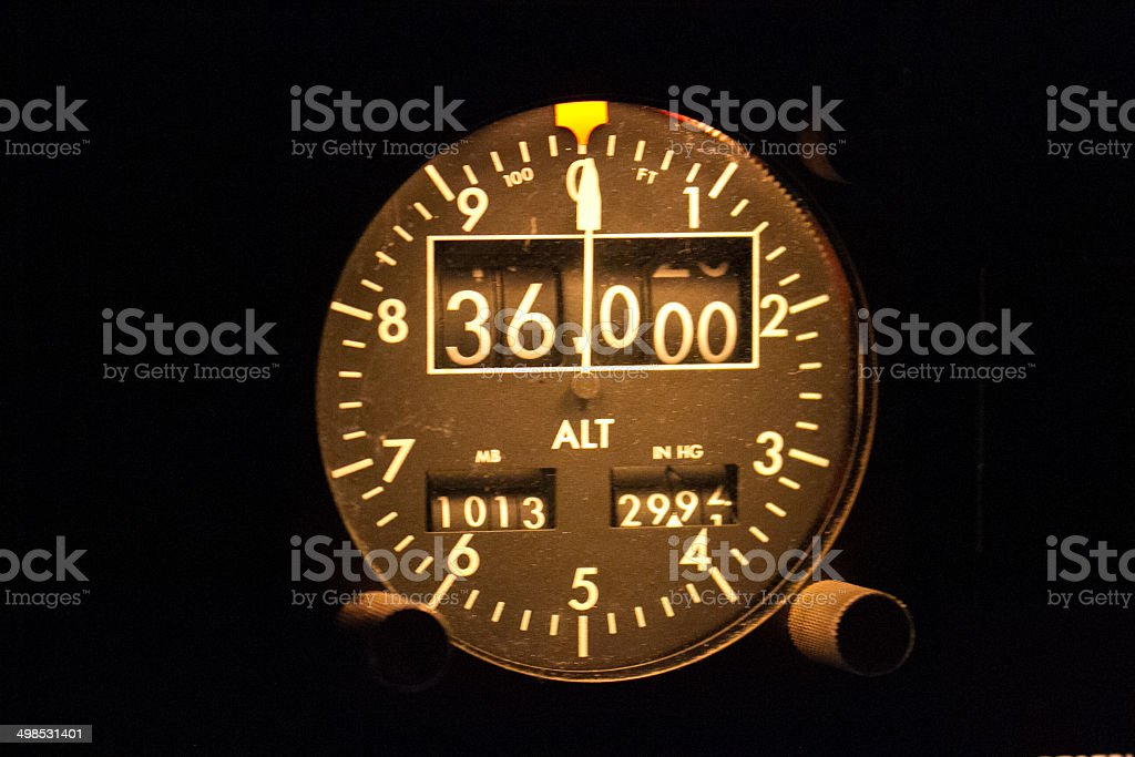 Altimeter royalty-free stock photo
