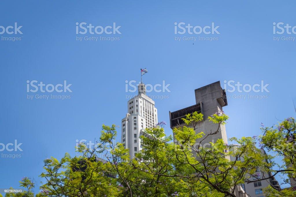 Altino Arantes Building in Downtown Sao Paulo - Sao Paulo, Brazil stock photo