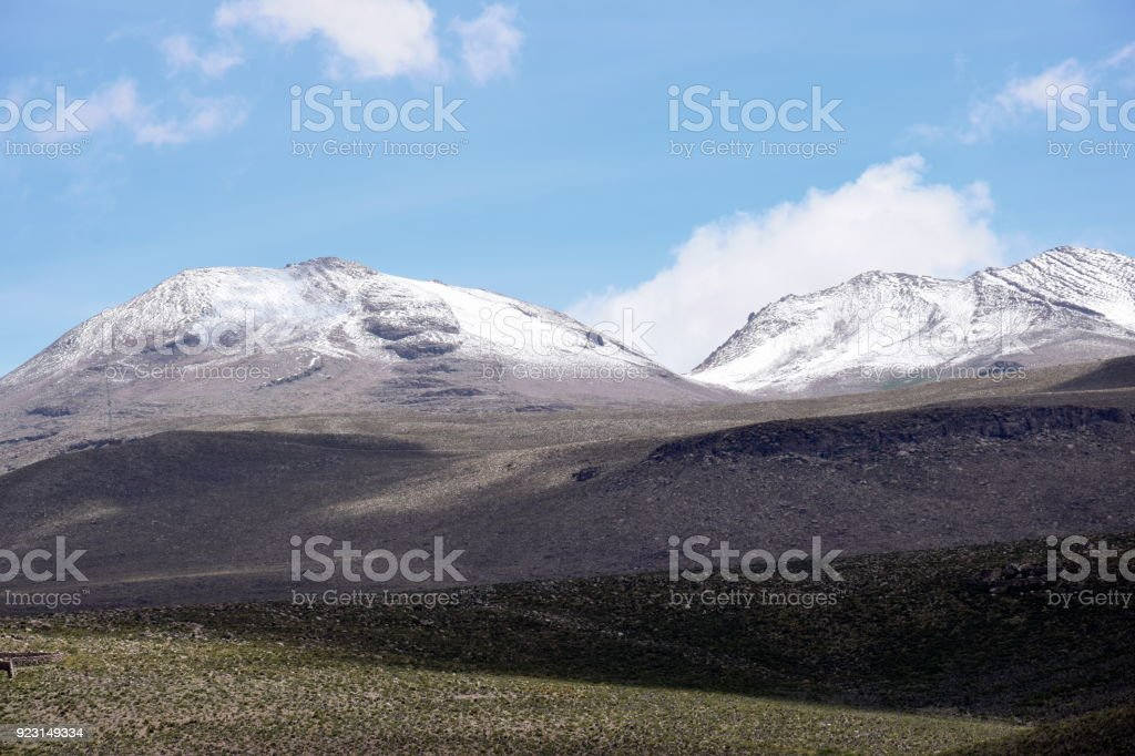 Altiplano Landscape stock photo