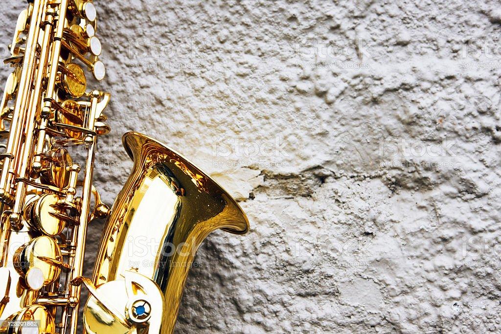 Alto saxophone royalty-free stock photo