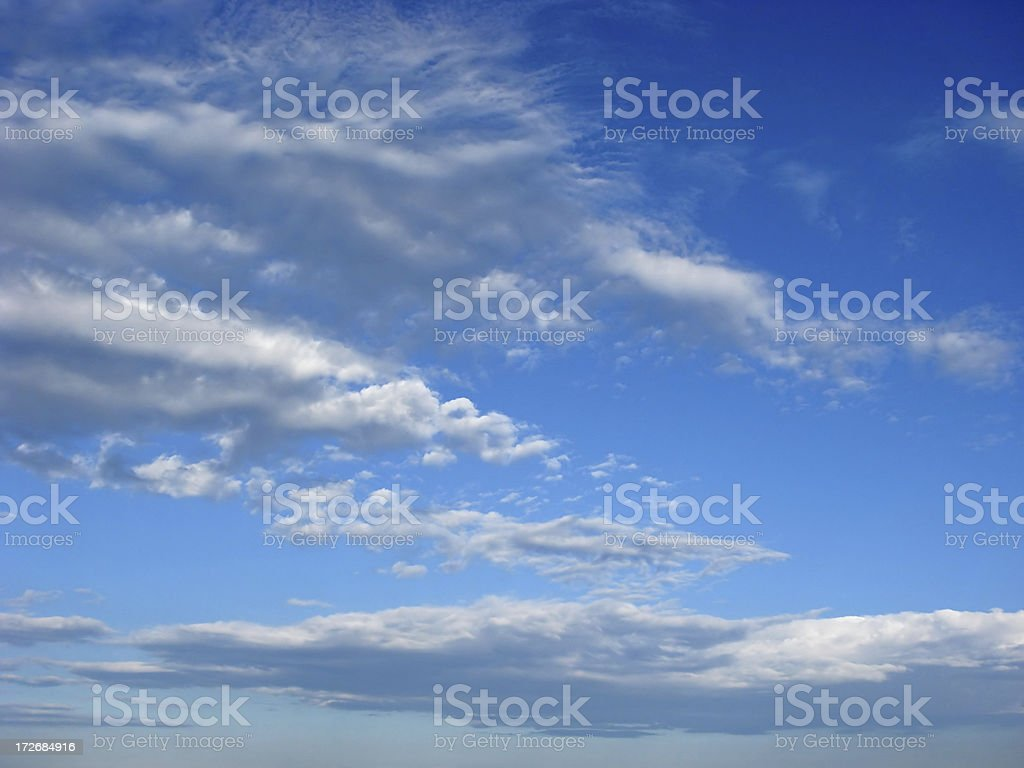 altocumulus cloud layer royalty-free stock photo