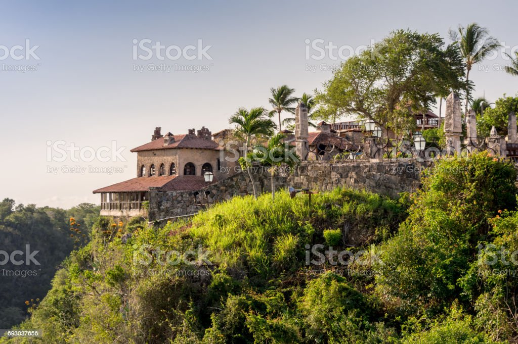 Altos de Chavon. stock photo
