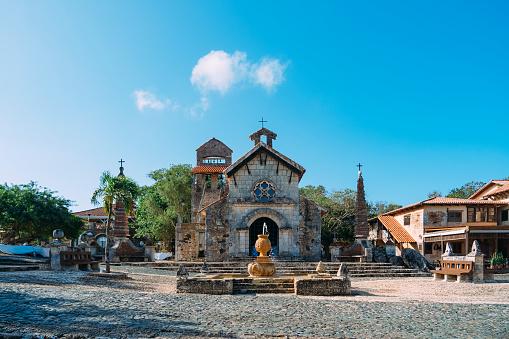 Dominican Republic, Altos de Chavón, Abbey - Monastery, Ancient, Architecture