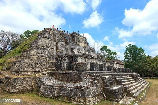Altun Ha Mayan Ruins  (the ancient name is unknown) is the modern name in the Mayan language for these ruins which are part of an ancient Maya city in Belize.  Altun Ha is located about 30 miles north of Belize City and about 6 miles west of the Caribbean Sea.