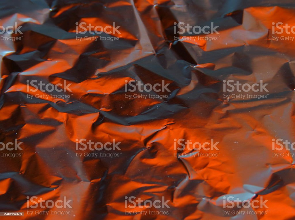 Alufoil abstract stock photo