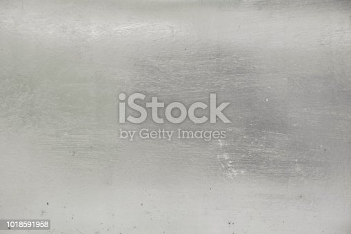 istock Aluminium background or texture and gradients shadow. 1018591958