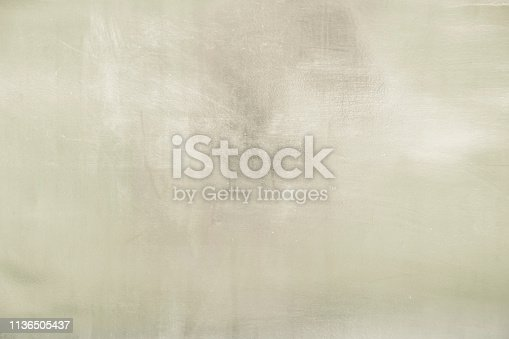 istock Aluminium background or texture and gradients shadow. 1136505437