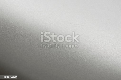 istock Aluminium background or texture and gradients shadow. 1153570299