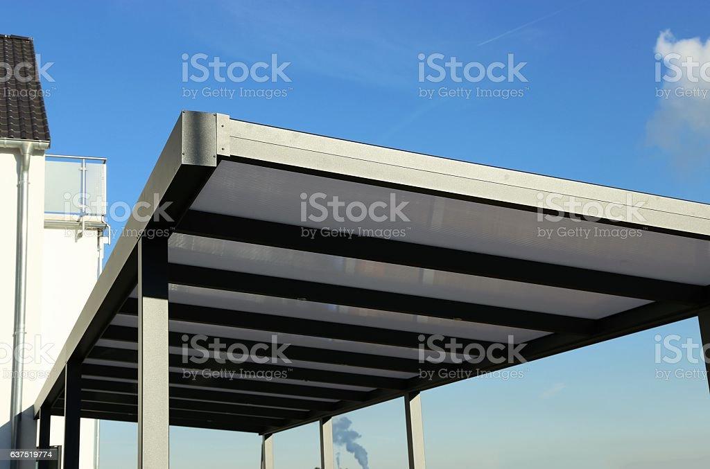Aluminium carport – Foto