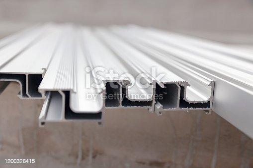 Aluminum rails for solar panel installation