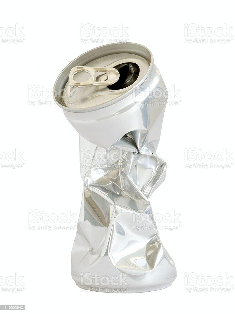 Aluminium drink container stock photo