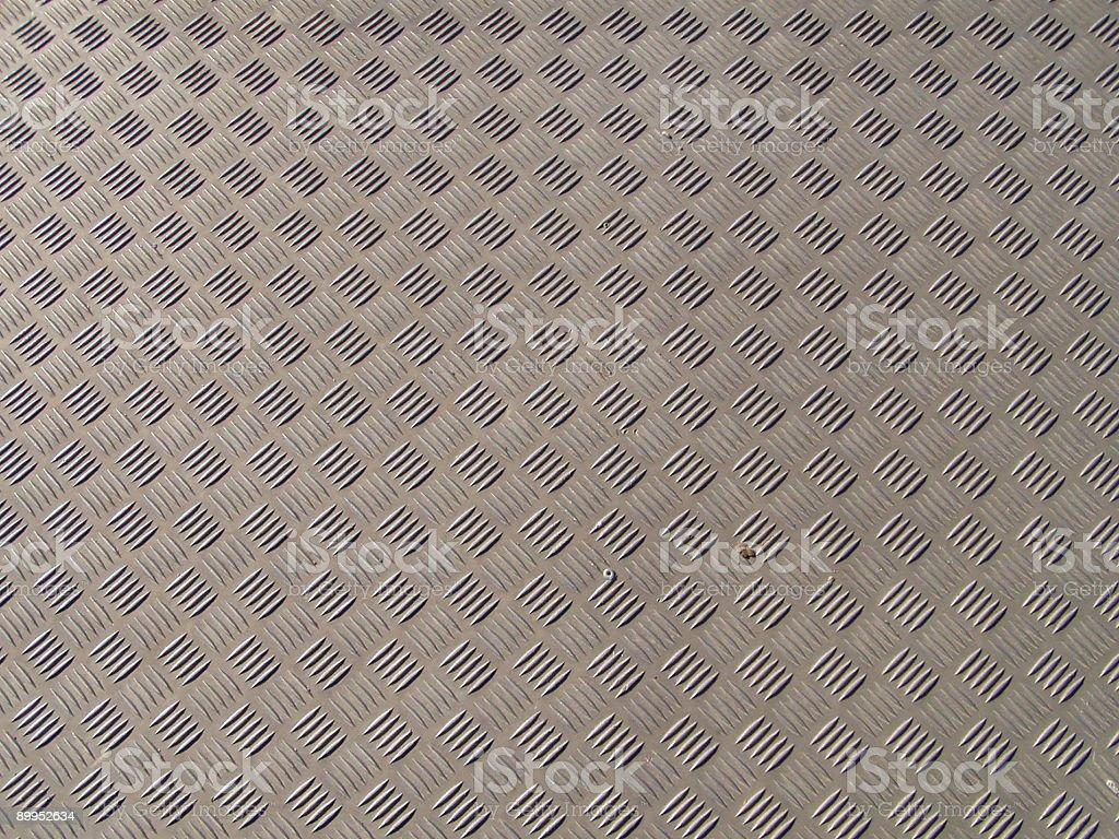 Aluminium floor texture royalty-free stock photo