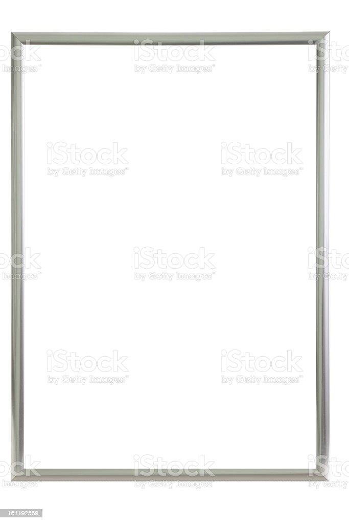 Aluminium frame stock photo