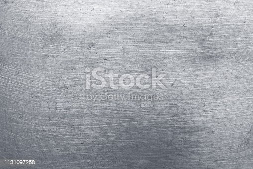 911885384 istock photo aluminium metal texture background, scratches on polished stainless steel. 1131097258