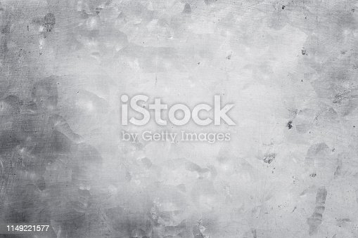 istock aluminium metal texture background, scratches on polished stainless steel. 1149221577