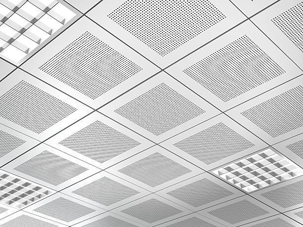 Aluminium plat de plafond suspendu - Photo