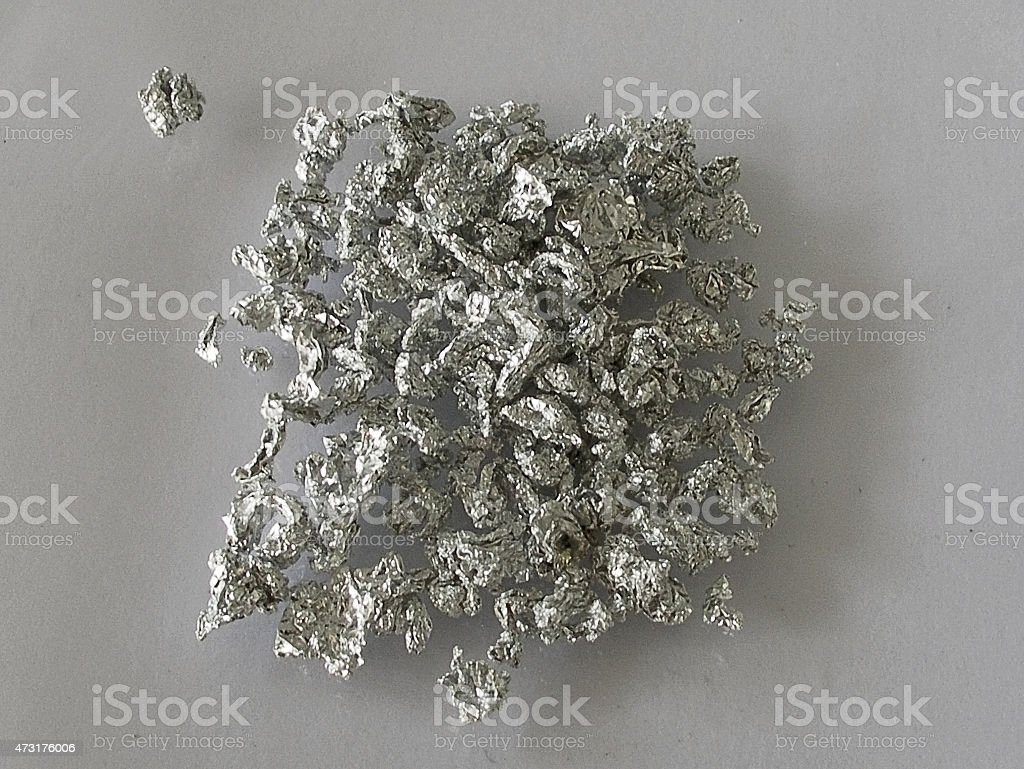 aluminium stock photo