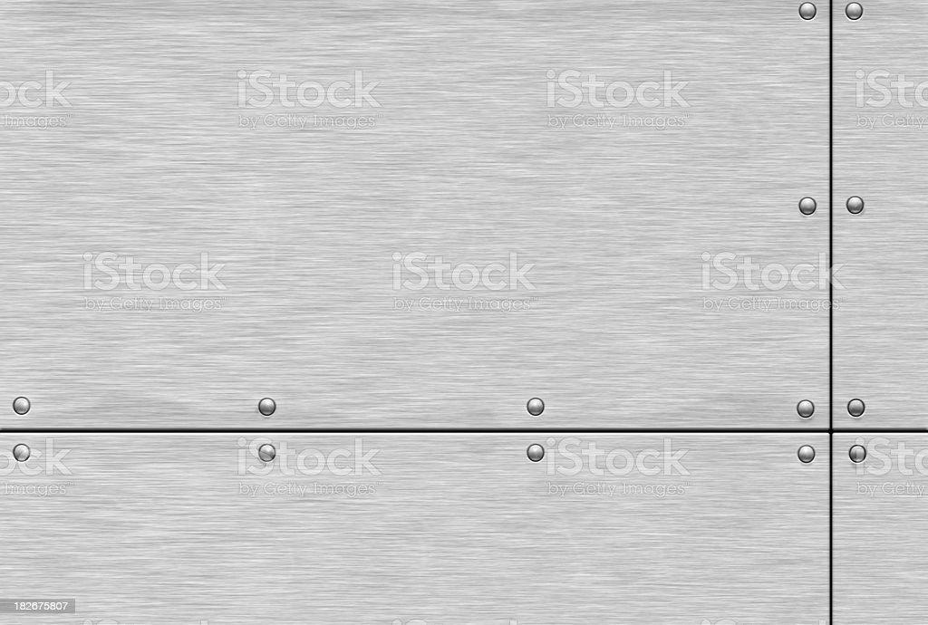 Aluminium plate stock photo