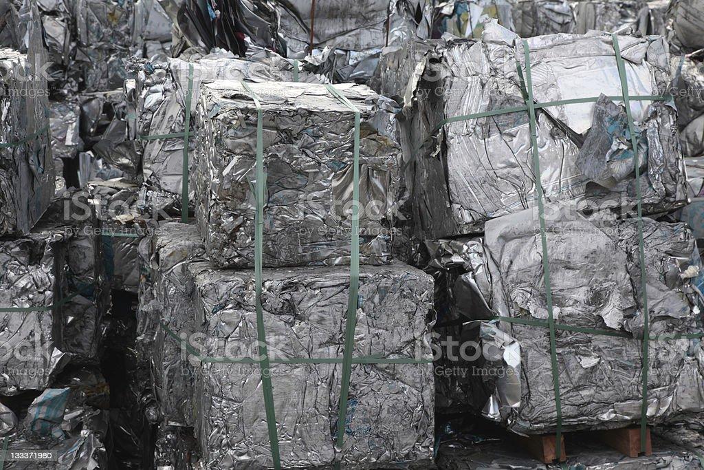 Aluminium Recycle stock photo