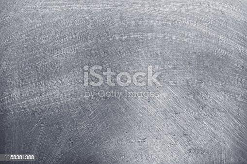 911885384 istock photo aluminium texture background, scratches on stainless steel. 1158381388
