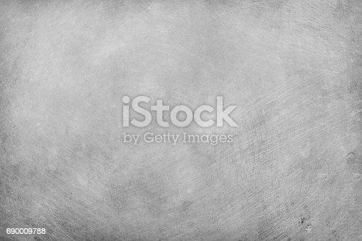 istock aluminium texture background, scratches on stainless steel. 690009788