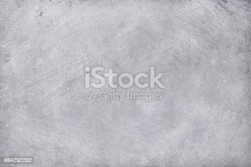 istock aluminium texture background, scratches on stainless steel. 694292202