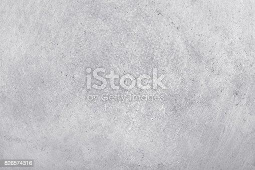 istock aluminium texture background, scratches on stainless steel. 826574316