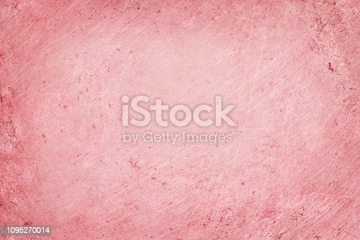 istock aluminium texture background with rose gold color, pattern of scratches on stainless steel. 1095270014