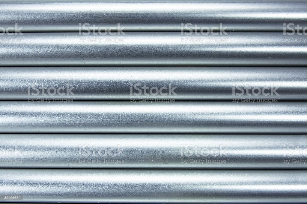 Sfondo di tubi di alluminio foto stock royalty-free