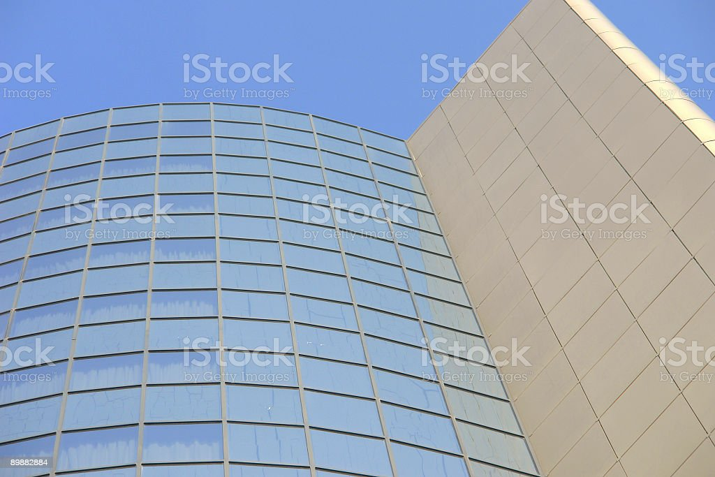 aluminium,glas,steel royalty-free stock photo