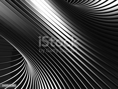 istock Aluminum Abstract Silver Stripe Pattern Background 545340360