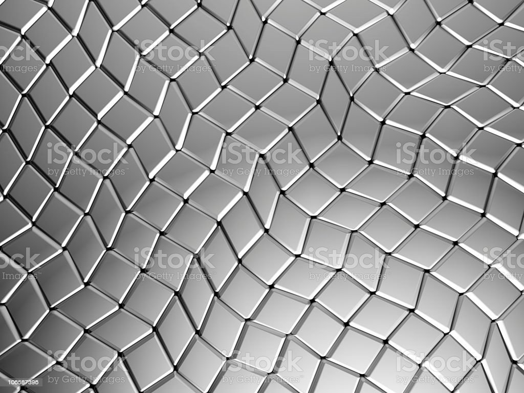 Aluminum abstract square background royalty-free stock photo