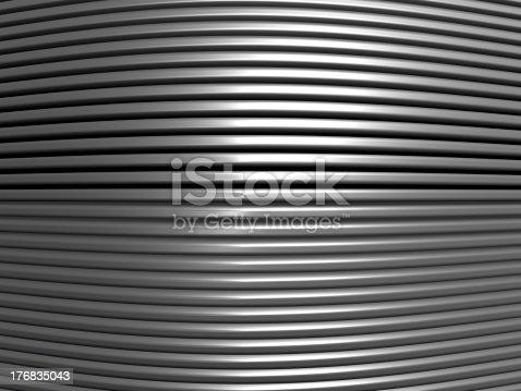 istock Aluminum abstract stripe pattern 176835043