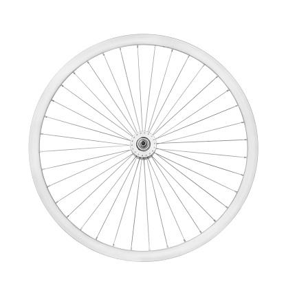 istock Aluminum bicycle wheel 649900712