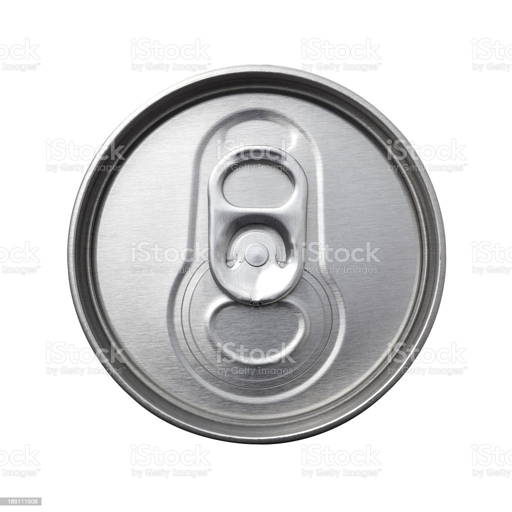 Aluminum Can Top Macro Stock Photo & More Pictures Of