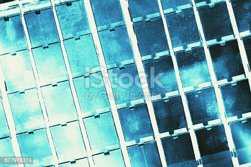 istock aluminum casting texture background 577976374