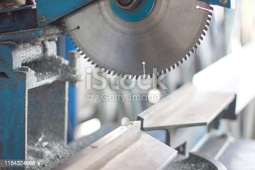 istock Aluminum cutting blades for general use and in the factory 1154324668