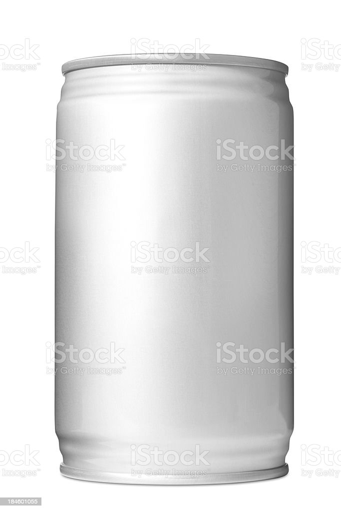 Aluminum Drink Can royalty-free stock photo