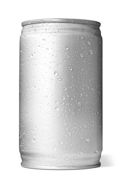 アルミニウム缶飲料 - 水滴 ストックフォトと画像