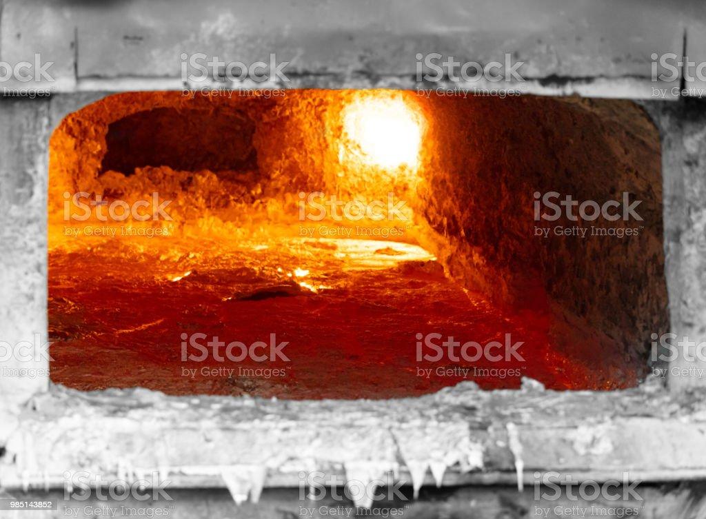 couche de scories d'aluminium - Photo