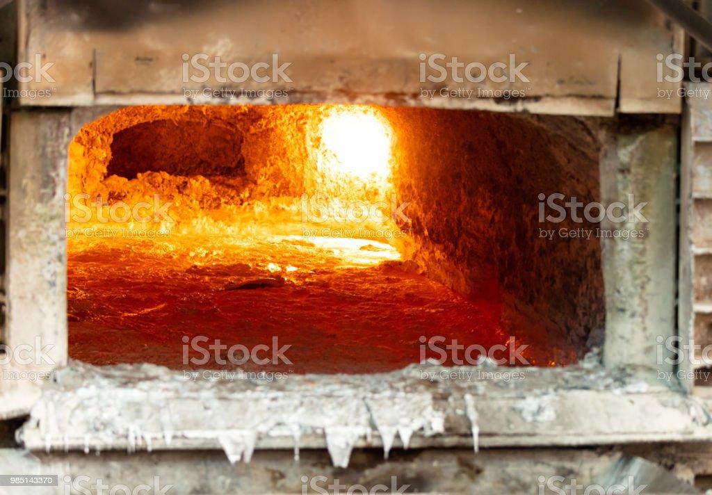 couche de scories d'aluminium pour nettoyer - Photo