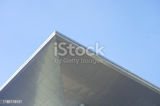 istock aluminum facade with Composite 1192115121