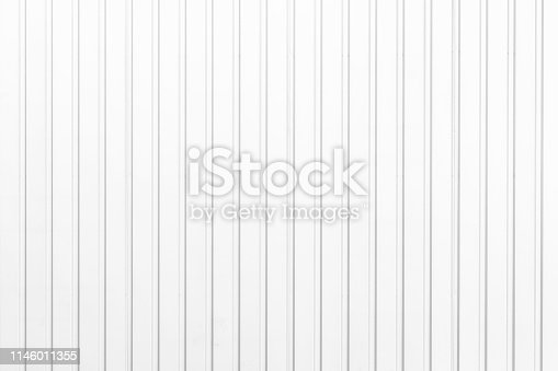 Aluminum fence panels painted white texture and background