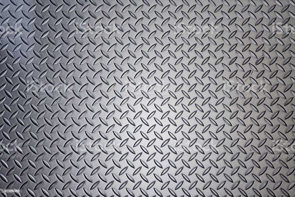 Aluminum Floor royalty-free stock photo