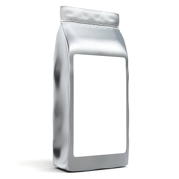 Aluminum Foil Bag Package stock photo