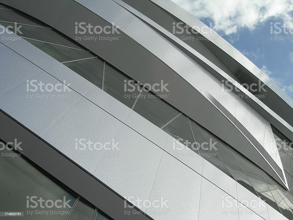 Aluminum & Glass Building 04 stock photo