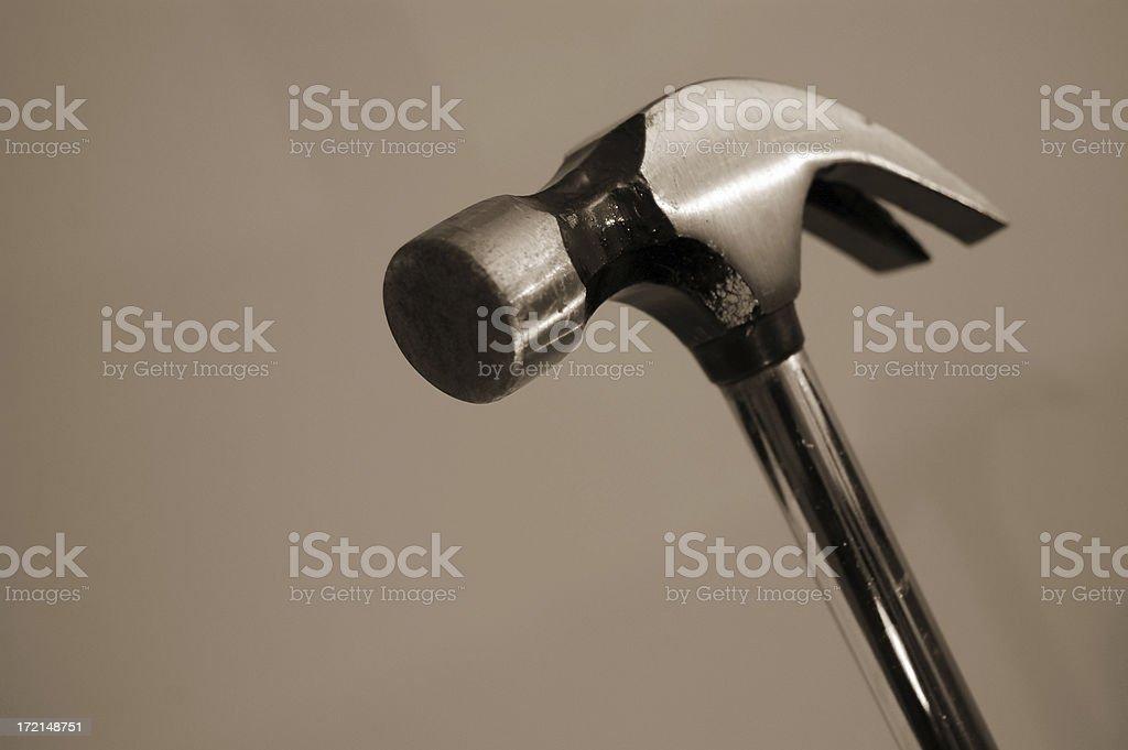 aluminum hammer royalty-free stock photo