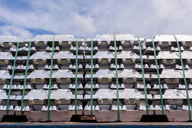 Aluminum Ingots Industrial Metals - Photo