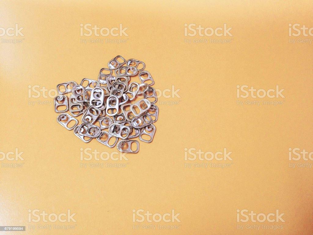 Aluminum lid photo libre de droits